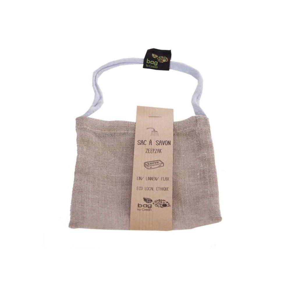 Sac à savon en coton bio (Bag to green)
