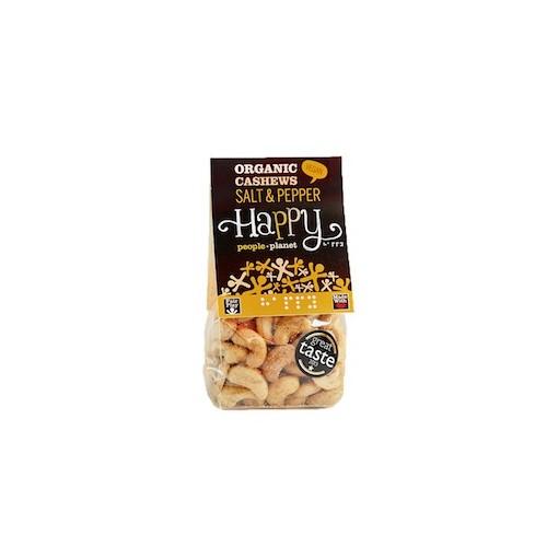 Noix de cajou sel et poivre bio 100 g (Happy People Planet)