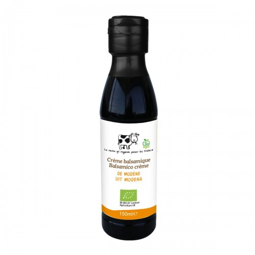 Crème balsamique bio 250 ml (La vache qui regarde passer les trains)