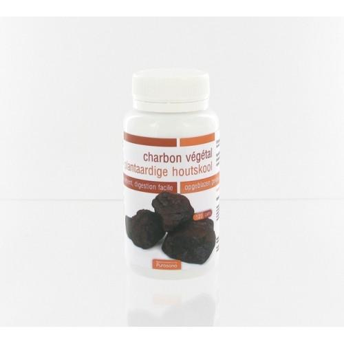 Charbon végétal 120 gélules (Purasana)