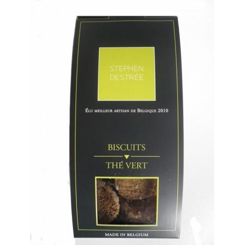 Biscuit thé vert (Biscuiterie Destrée)