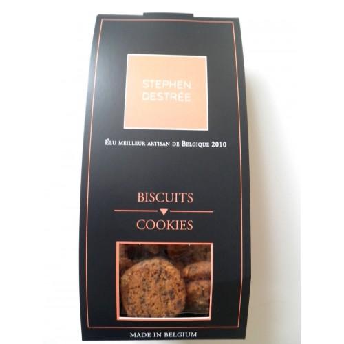 Cookies chocolat et amandes 100 g (Biscuiterie Destrée)