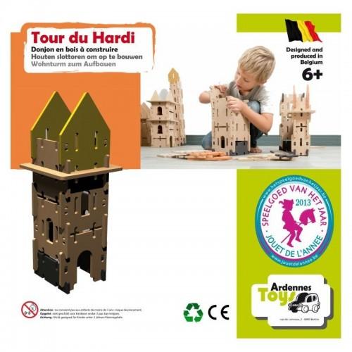 Hardi Toren 13-delig ( 6+) Ardennes Toys