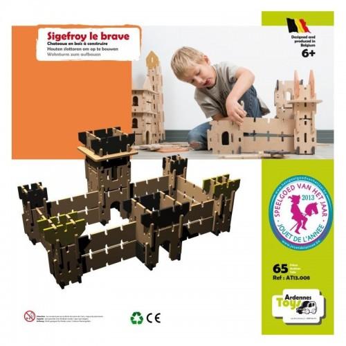 Château Sigefroy Le Brave (65 pces) (6 +) Ardennes Toys