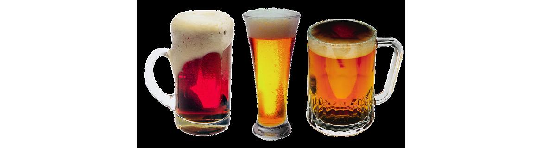 bieren glazen